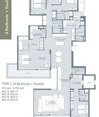 Marina-Collection-Floorplan-c4 bedroom-studio